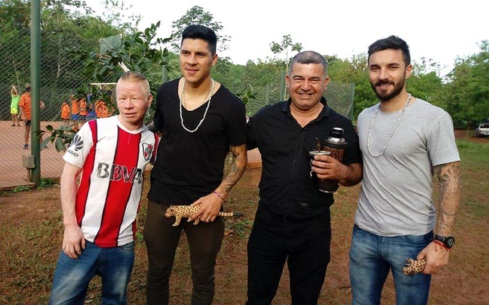 La promesa solidaria que cumplieron Scocco y Enzo Pérez tras ganar la Libertadores 2018