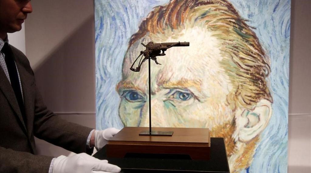 Subastan la pistola con la que se habría suicidado Van Gogh