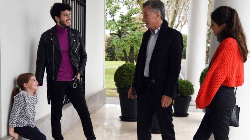 Yatra y Tini, juntitos en la residencia presidencial para sorprender a Antonia