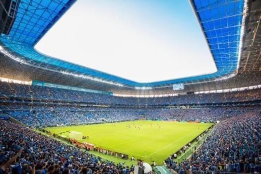 Arena do Gremio, modernidad impactante al servicio del juego