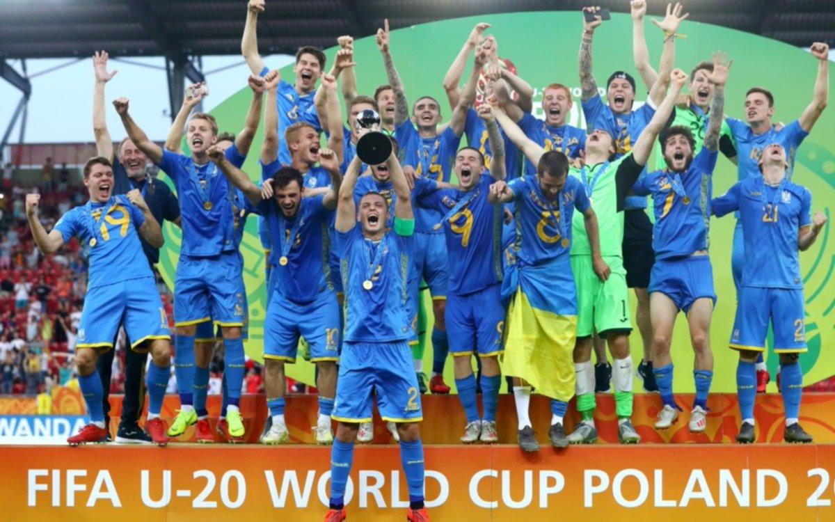Ucrania es el nuevo campeón del mundo Sub 20 tras superar a Corea del Sur