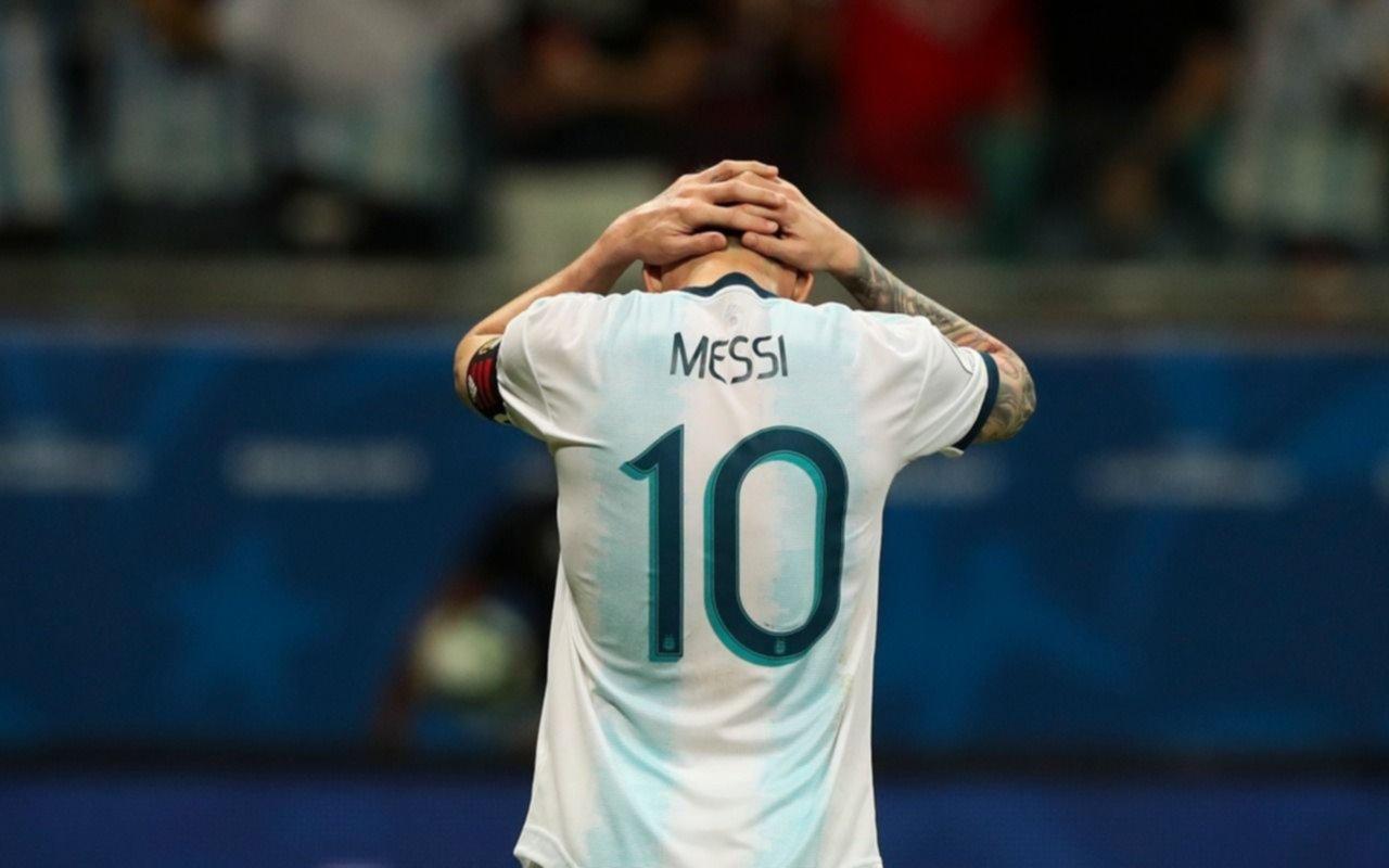 Para agarrarse la cabeza: Argentina perdió ante Colombia en un flojo debut en la Copa América