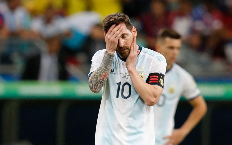 """Messi """"Nos va a llevar un tiempito asimilar esta derrota y aceptarla"""""""