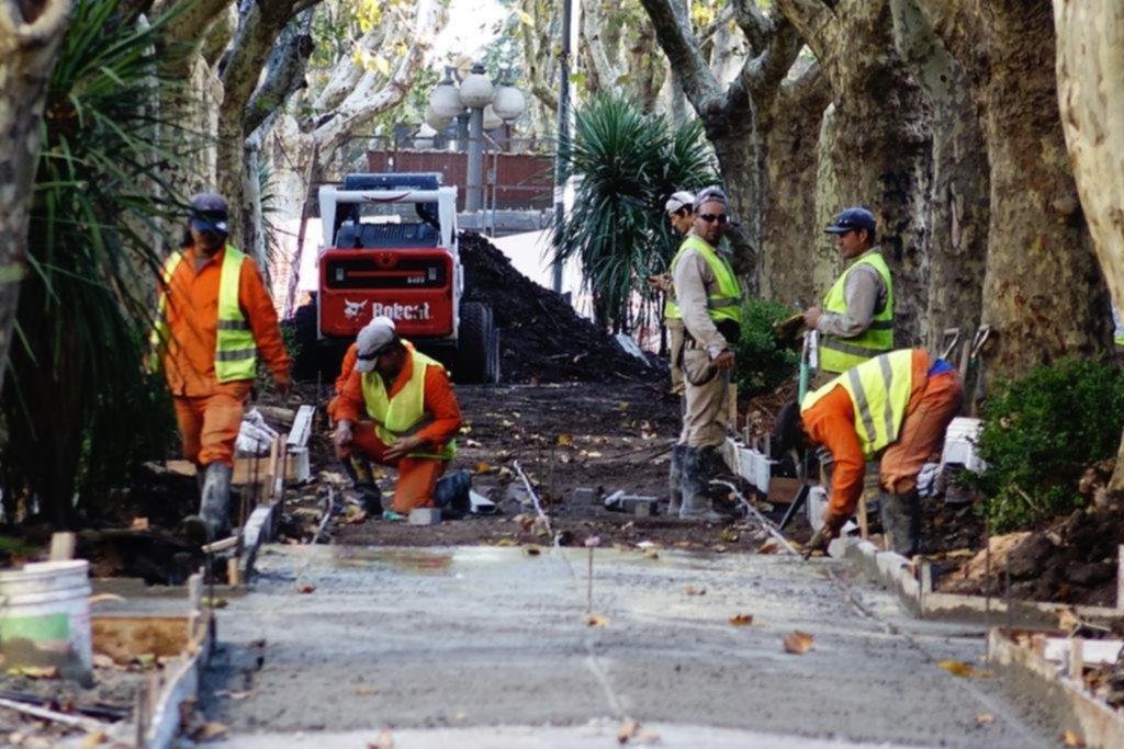 La reconversión de la avenida 51 entre 4 y 6 cumple tres meses de obra y está en un 56%
