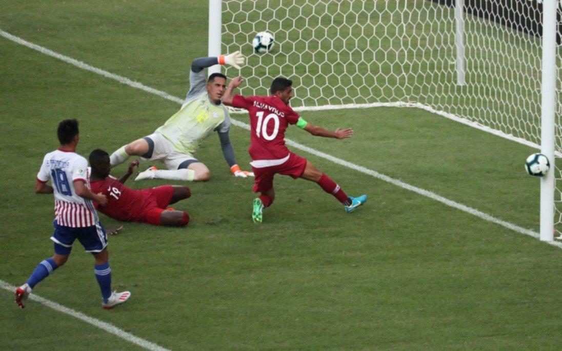 Paraguay y Qatar empataron en el Maracaná
