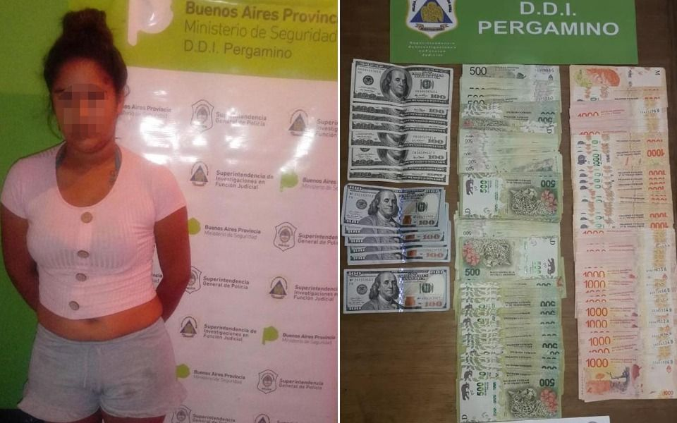 Cayeron dos mujeres por robar más de 200 mil pesos y dos mil dólares al novio de una de ellas