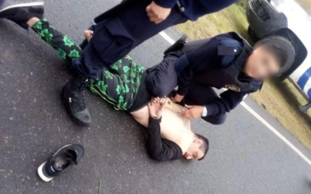 Detuvieron al cantante de La Liga por amenazar de muerte a una mujer y atropellar a un policía