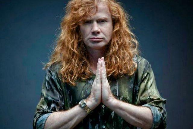 Dave Mustaine dice 'hasta luego': tiene cáncer de garganta