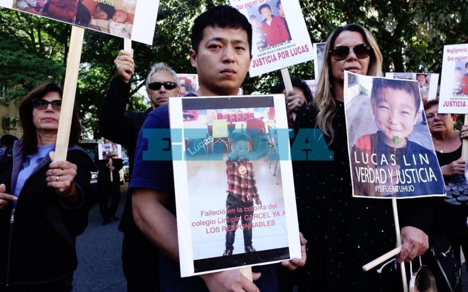 Lucas Lin: pidieron la clausura del predio y se negó a declarar una de las imputadas