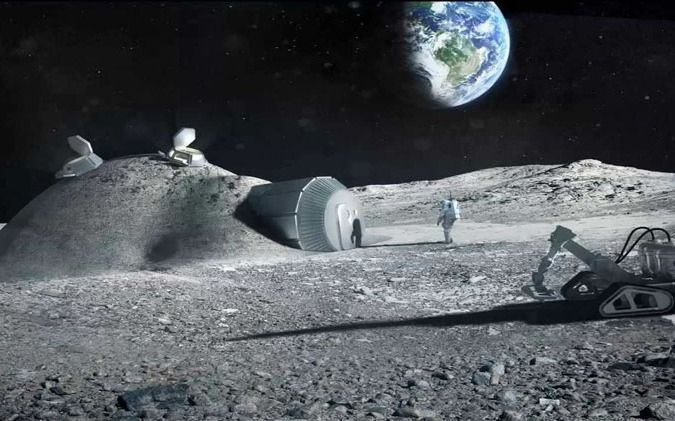 La NASA busca establecer al ser humano en la Luna a partir de 2028