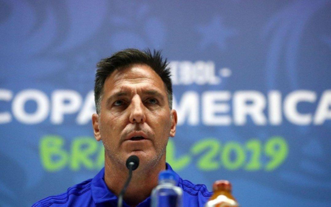 """El DT de Paraguay sostuvo que""""anular a Messi no es tarea de uno solo"""""""