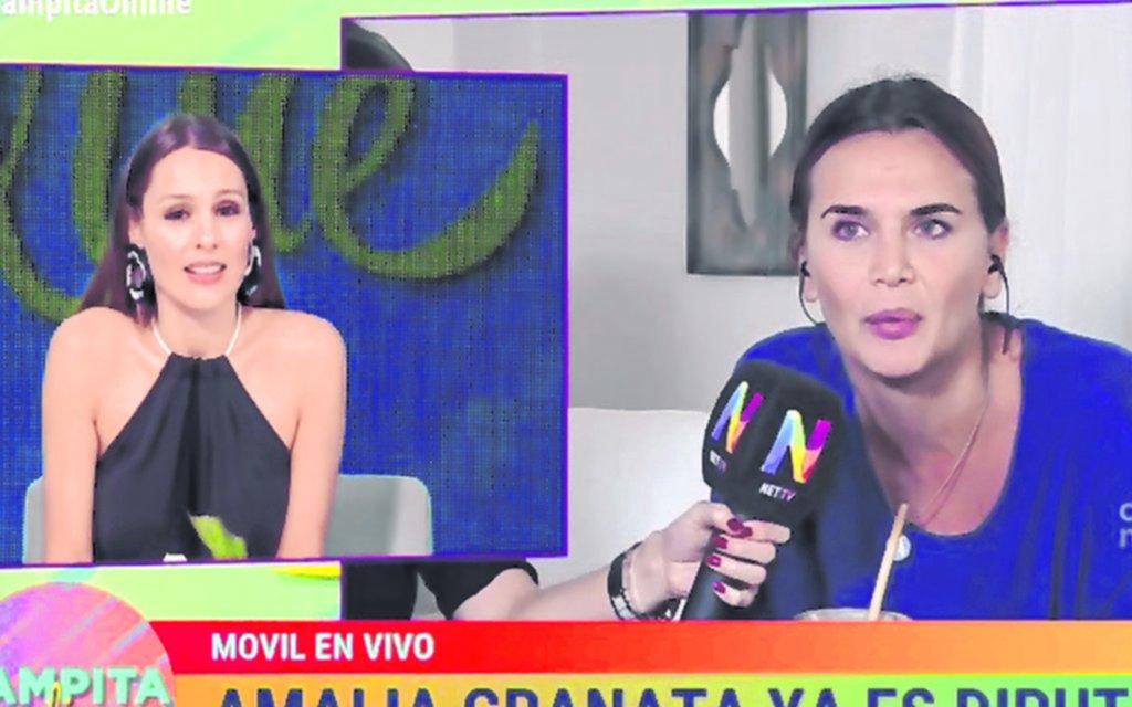 Pampita vs. Granata: tensión, chicanas y faltas de respeto al aire