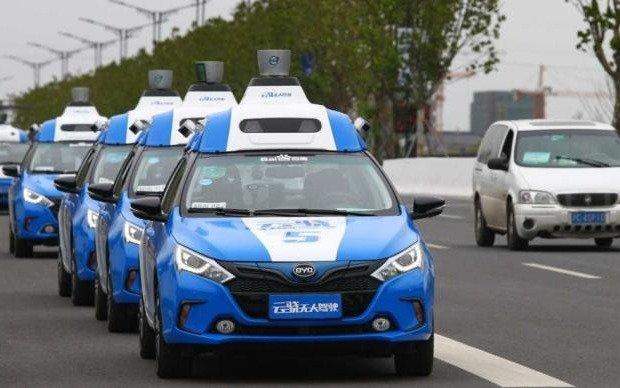 China quiere liderar la adopción de coches autónomos y ya autorizó sus pruebas