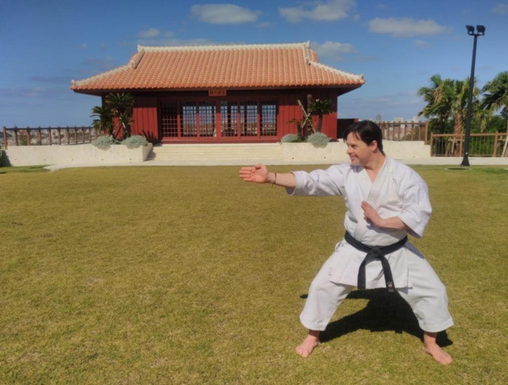 El karateka de Gonnet que fue ovacionado de pie en Japón