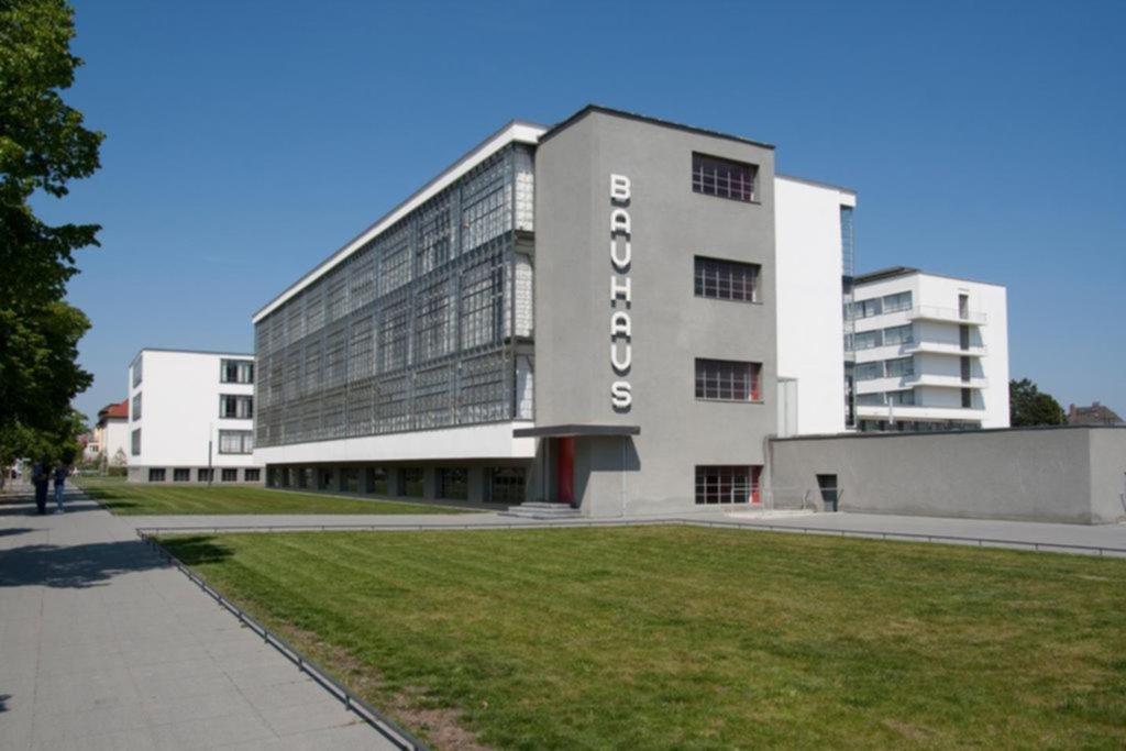 Edificio Bauhaus en la ciudad alemana de Dessau
