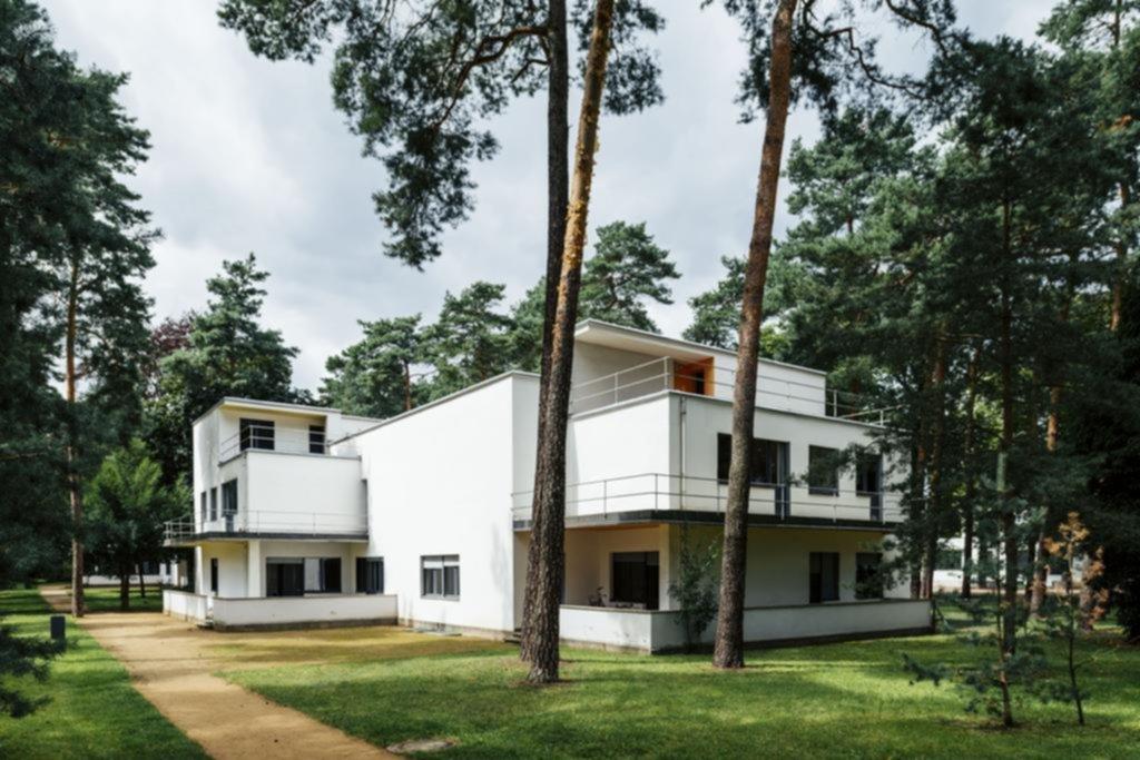 Las denominadas Casas de los maestros en la ciudad de Dessau