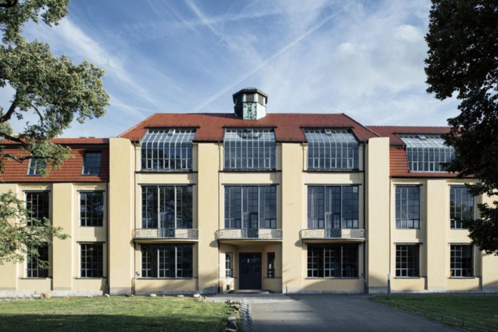 Edificio principal de la Universidad Bauhaus en la ciudad germana de Weimar. Foto: T.Franzen