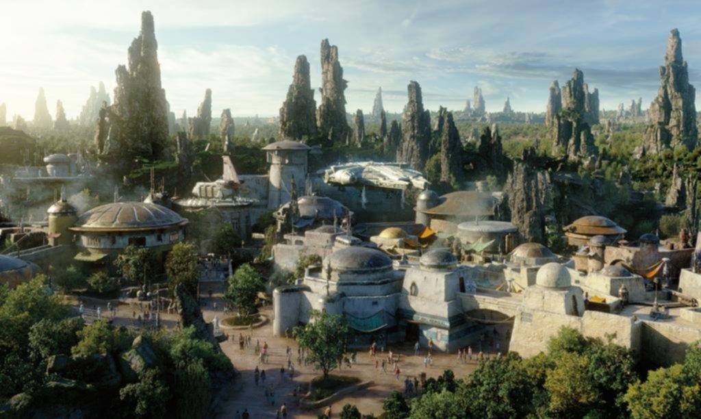 """""""Star Wars"""" llegó a Disney con un parque temático que incluye historia y diversión"""