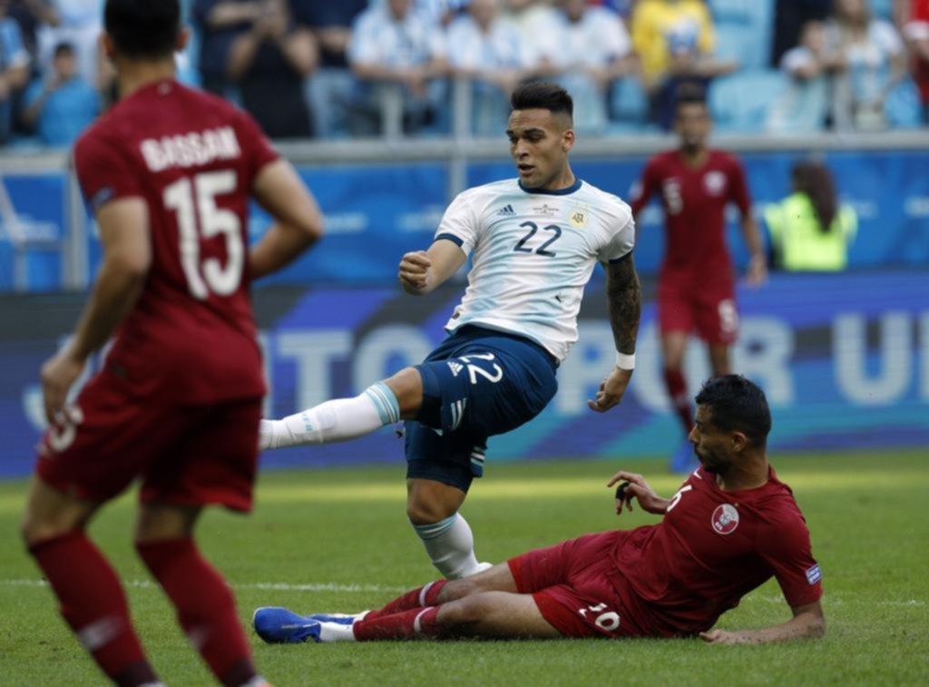 Lo mejor de Argentina estuvo en el ataque, con el desahogo de los delanteros