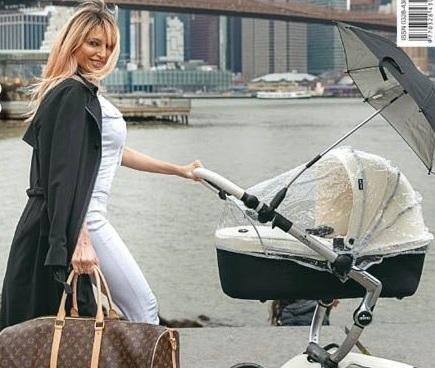 El motivo por el que Vicky no pasea a su hijo en el país