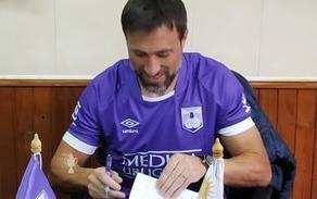 Mariano Pavone puso la firma en Defensor Sporting