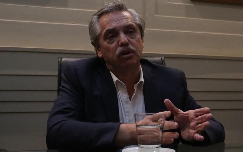 """Alberto Fernández: """"El 10 de diciembre vamos a meter presa a la palabra venganza"""""""