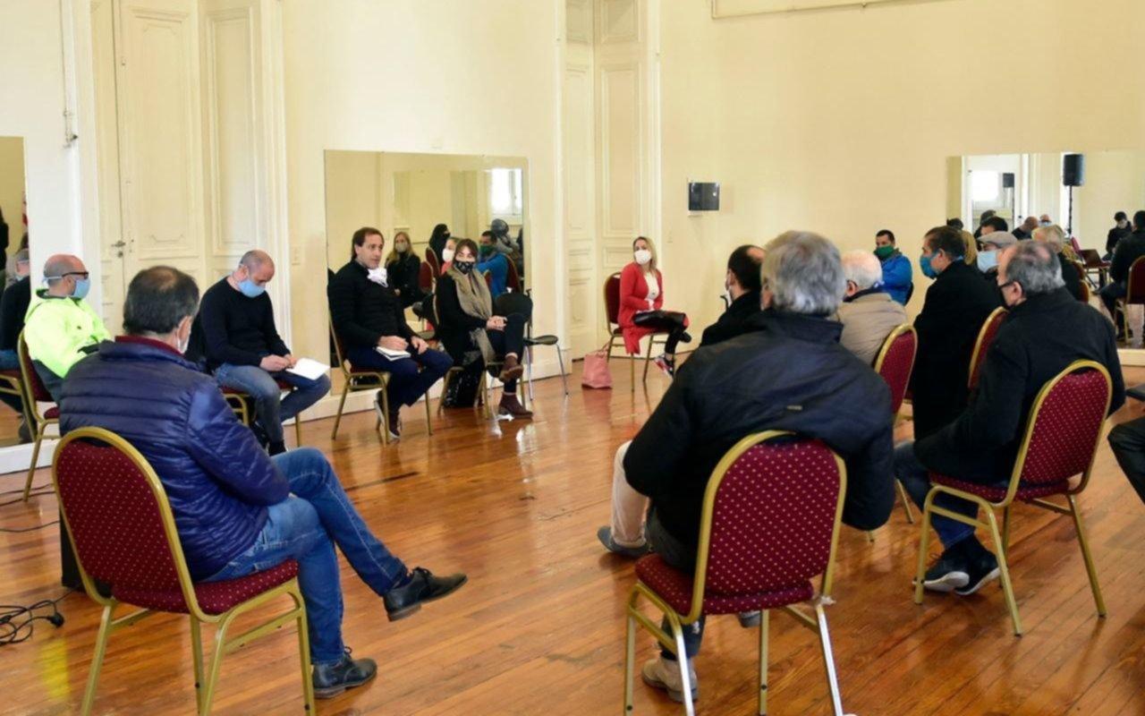 Garro encabezó un nuevo encuentro del comité de crisis