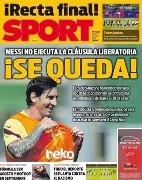 La decisión de Messi quealeja el sueño de Newell's