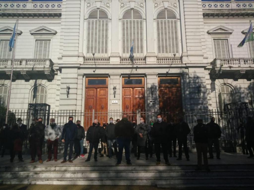 Abogados platenses le piden a la Suprema Corte que los dejen trabajar