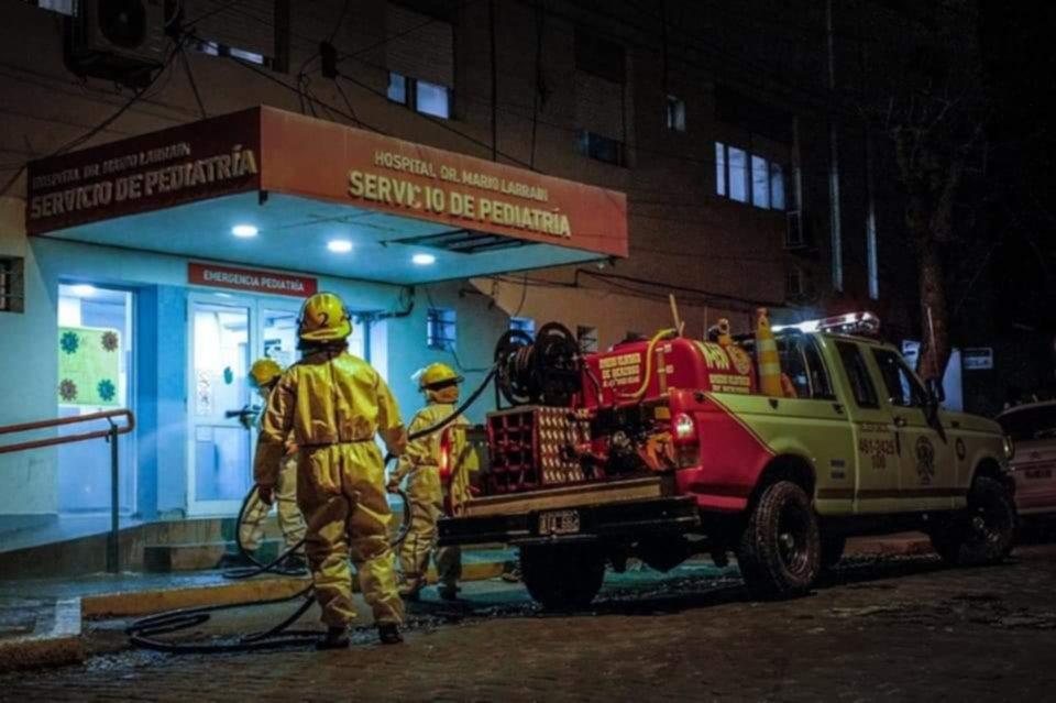 Los bomberos voluntarios: en su día, poniendo el hombro a la pandemia