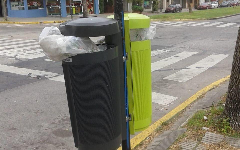 Problemas con la recolección de basura en la zona de 19 y 47
