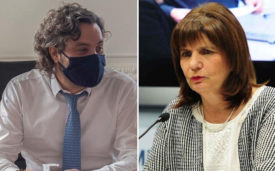 """Tensión entre el Gobierno y la oposición: el PRO acusó a Cafiero de querer """"dividir a los argentinos"""""""