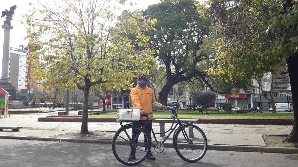 Los otros bikers: delivery ecológico y solidario