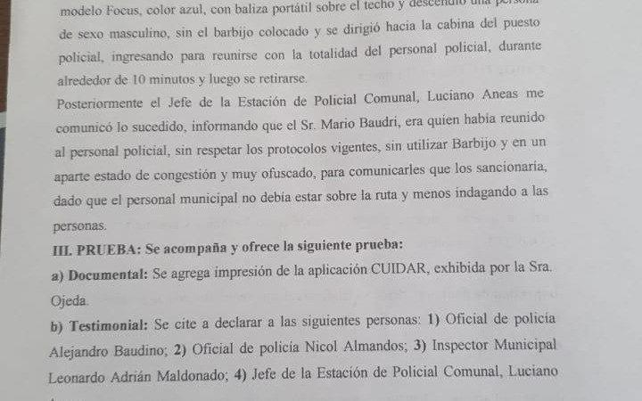 Acusan a la ex de Maradona de usar permiso trucho y al novio, Jefe de Gabinete de Berni, por abuso de poder