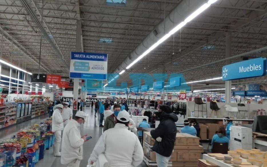 Trabajadores de Walmart La Plata hacen retención de tareas y denuncian más contagios de Covid-19