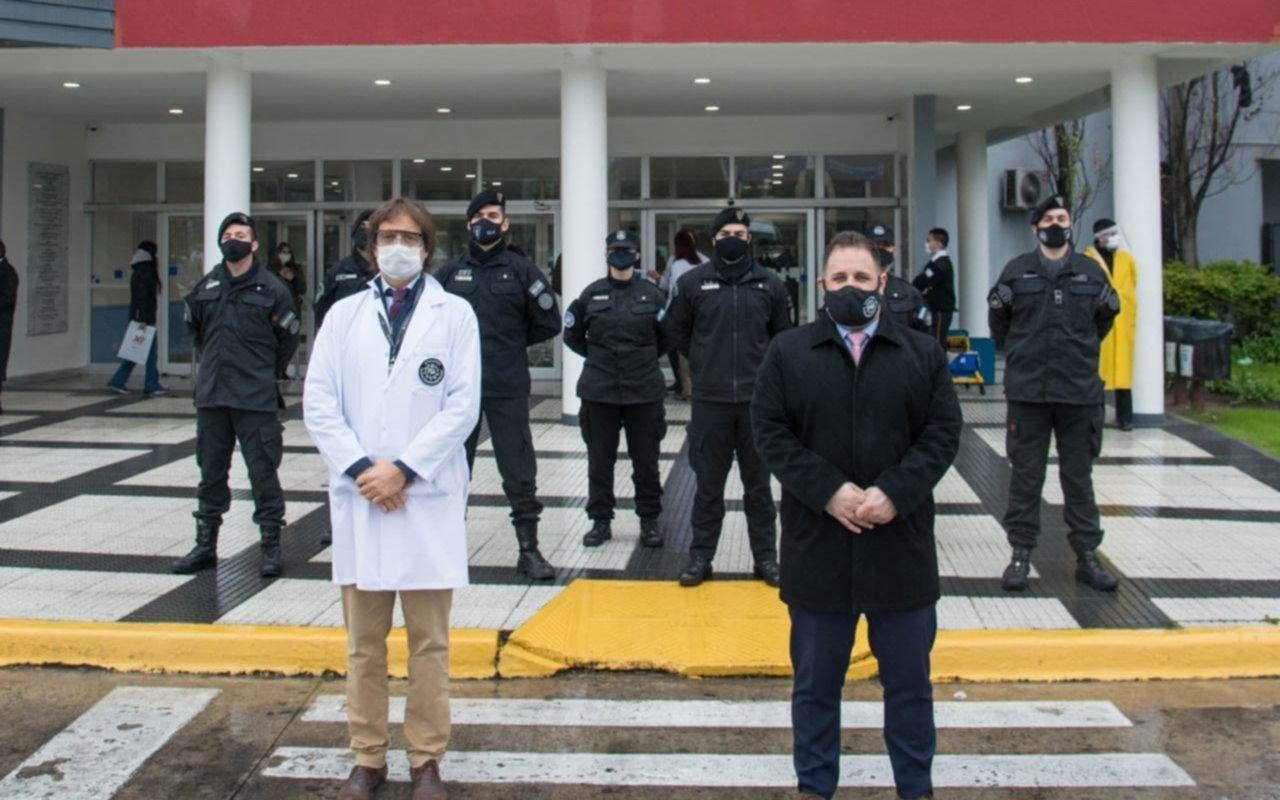 Oficiales de la Policía Aeroportaria recuperados de COVID-19 donaron plasma para pacientes