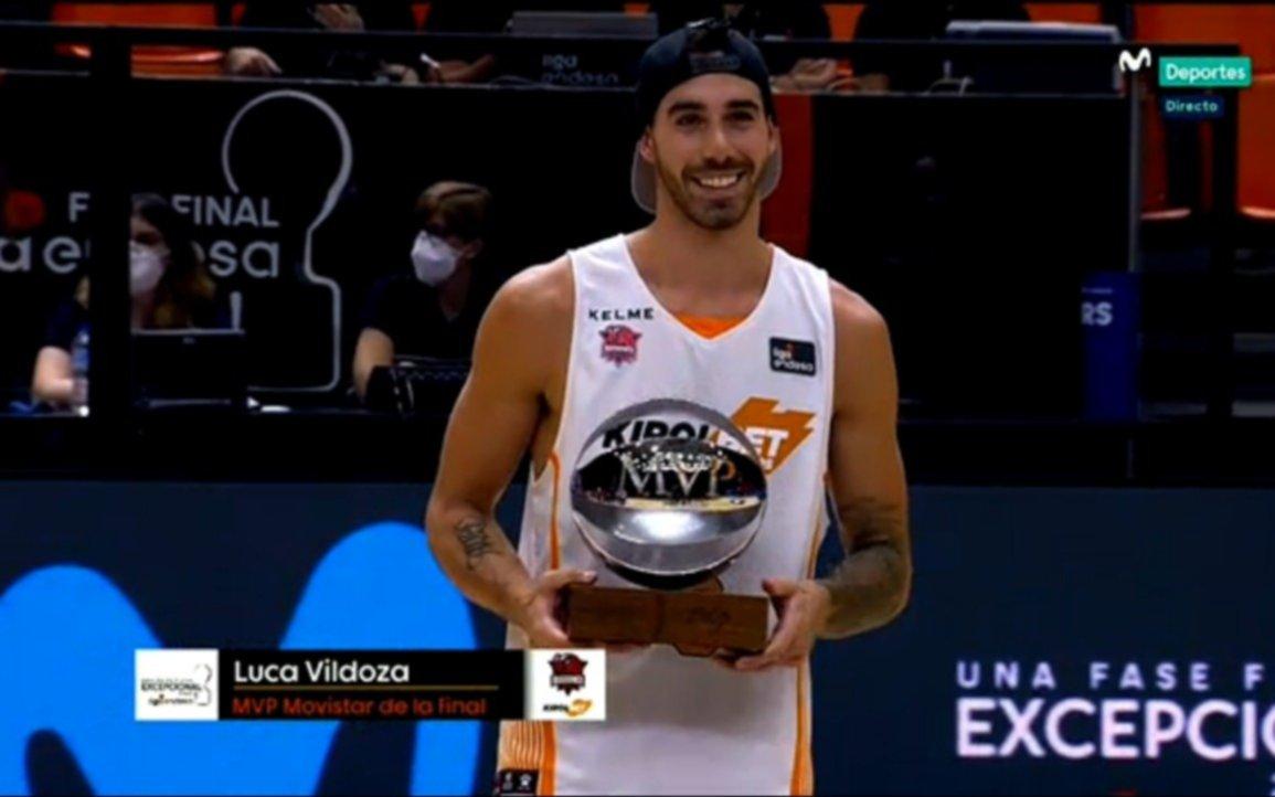Con Vildoza como figura y MVP, Baskonia se consagró campeón en España