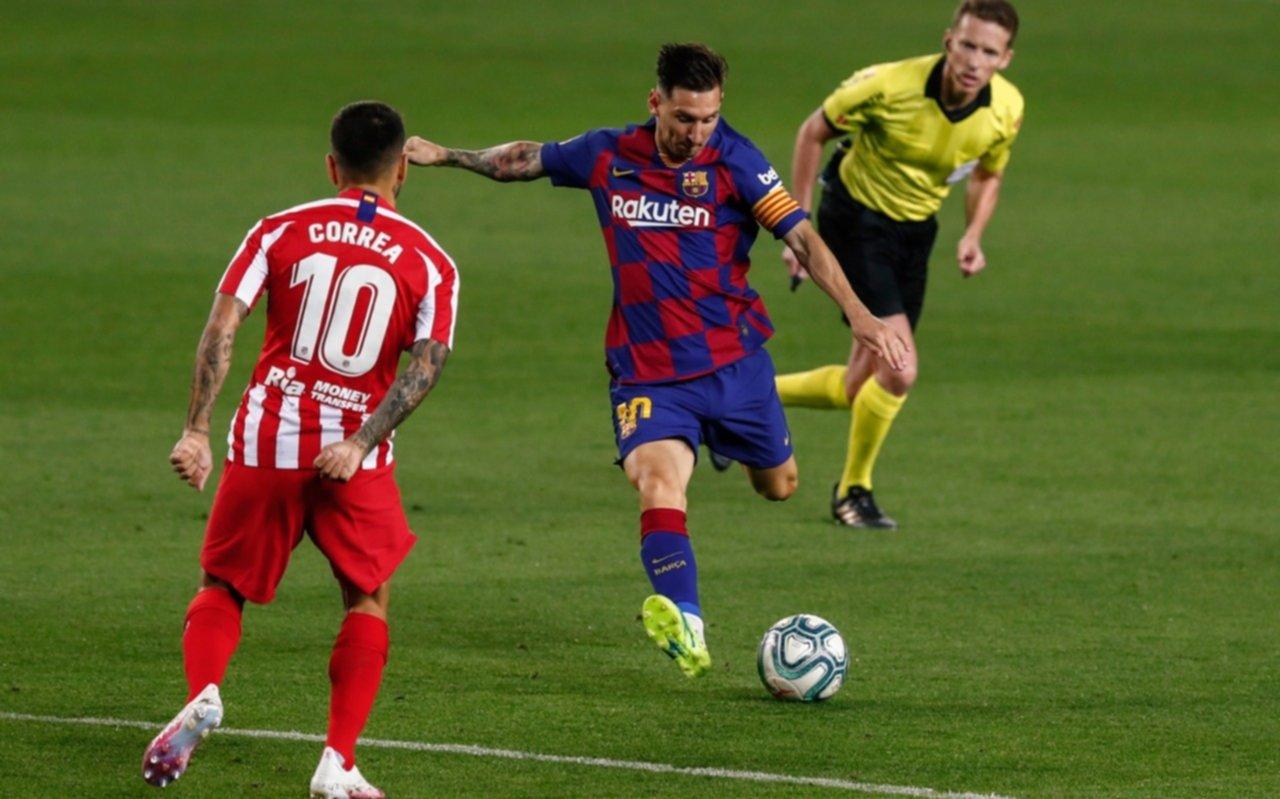 Messi llegó al gol 700, pero Barcelona no pasó del empate