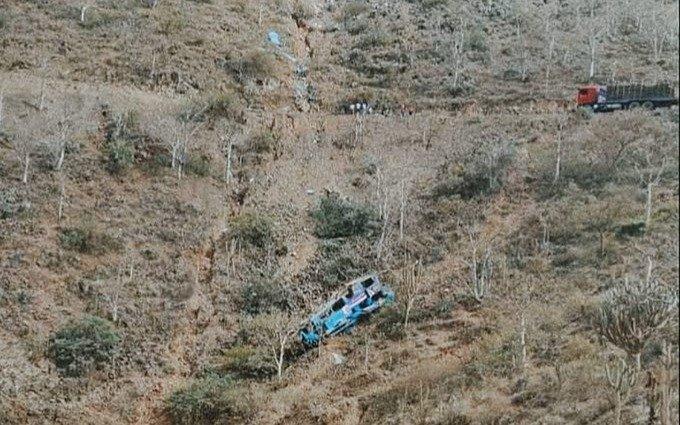 Perú: Al menos 17 muertos al caer un micro a un abismo conocido como el Balcón del Diablo