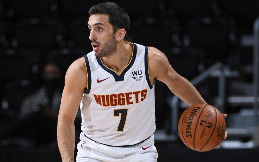 Campazzo y su equipo, Denver Nuggets, la pasaron muy mal en la NBA