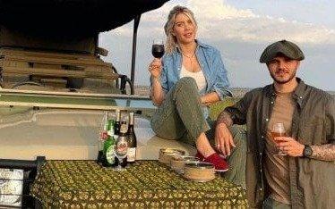 El lujoso safari de Wanda e Icardi en Africa: ¿Por qué dejaron a sus hijos en París?