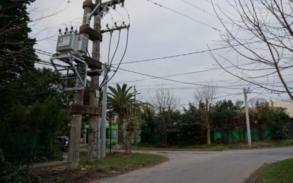 Amplían la red eléctrica de un sector de City Bell
