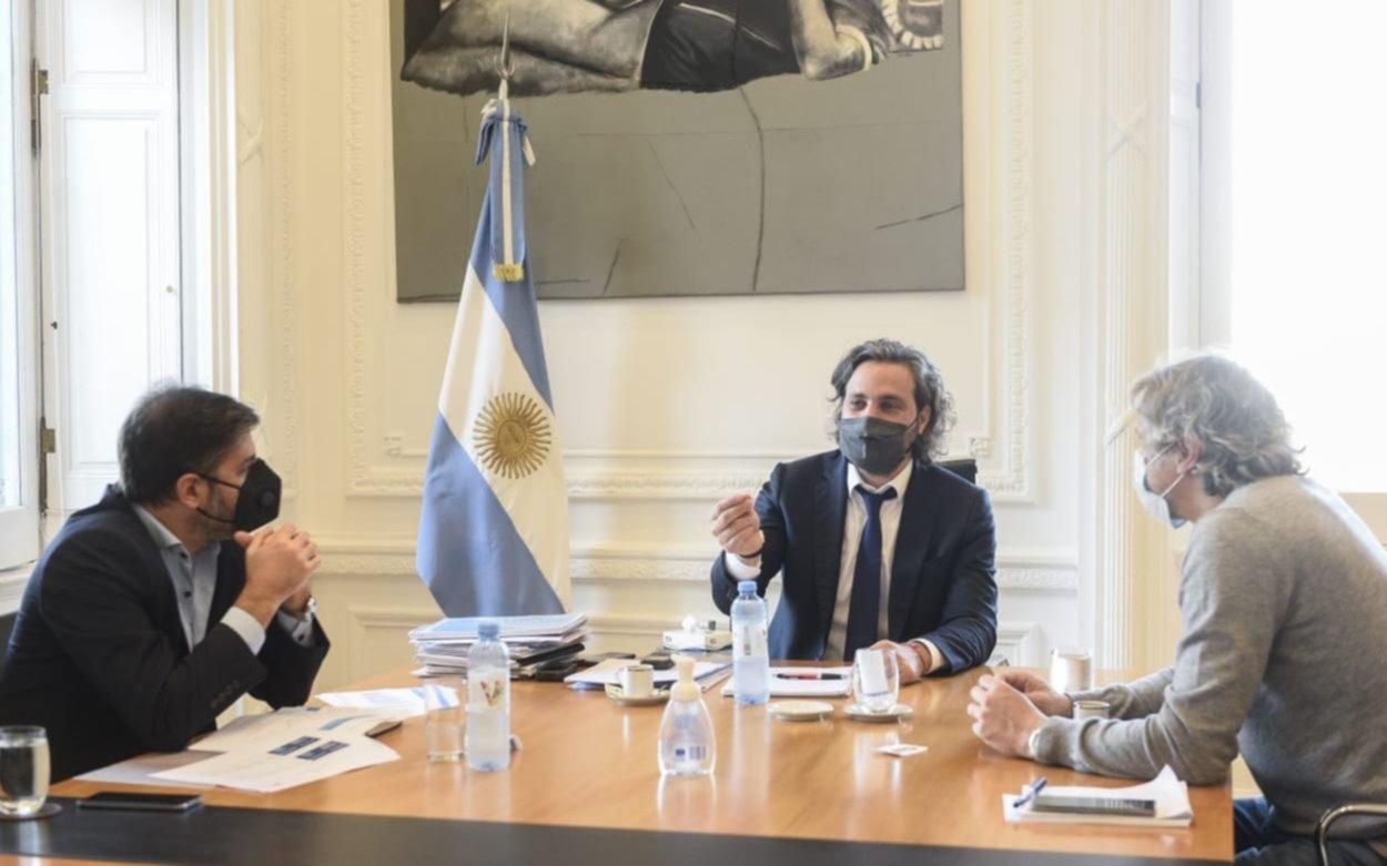 Cafiero se reunió con los jefes de Gabinete de Provincia y Capital: cómo seguirán las restricciones