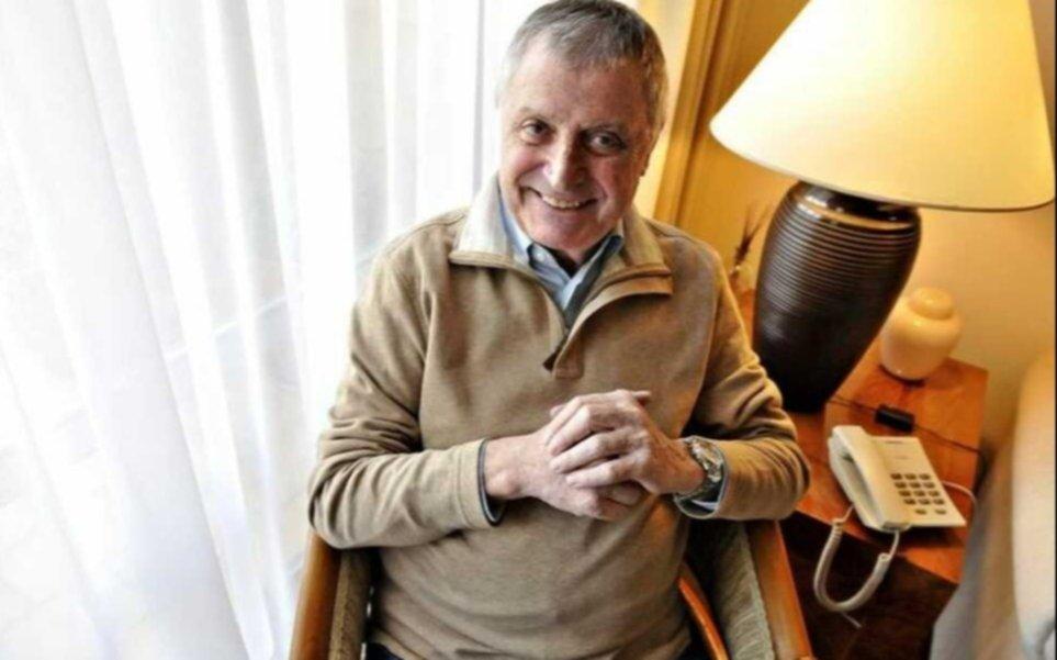 Se complicó el cuadro de coronavirus de Gino Renni y lo ingresaron a terapia intensiva