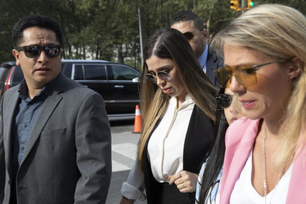 """La esposa del Chapo, """"culpable"""""""