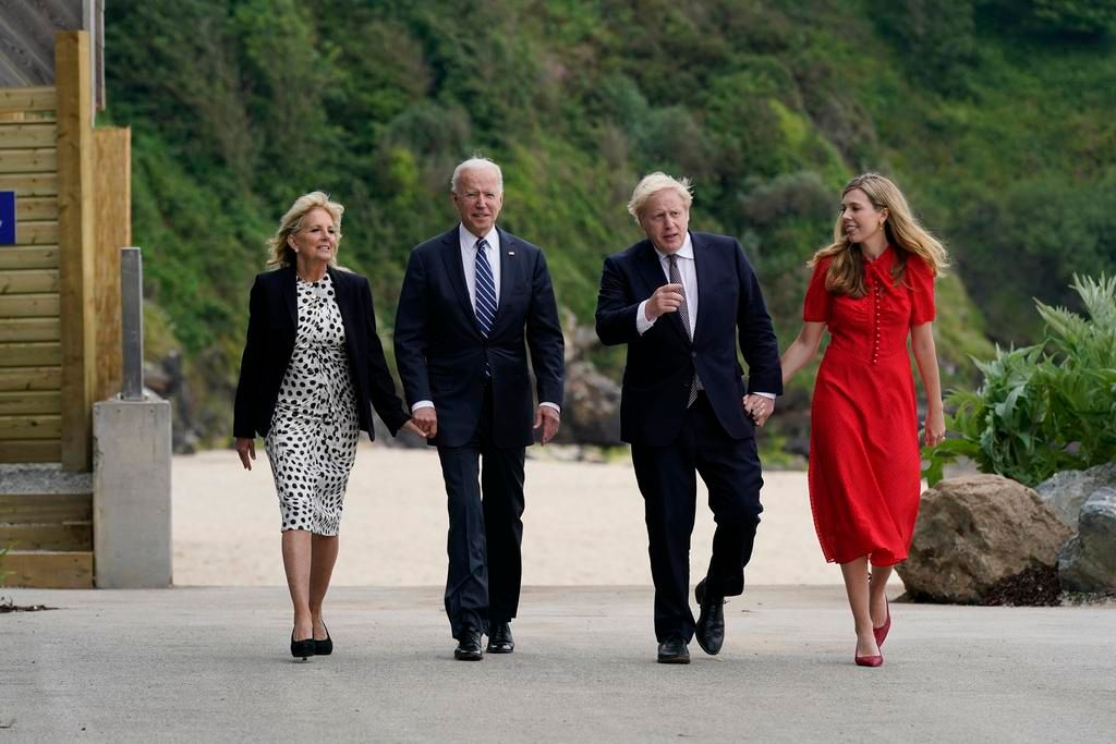 Biden y Johnson celebran su alianza