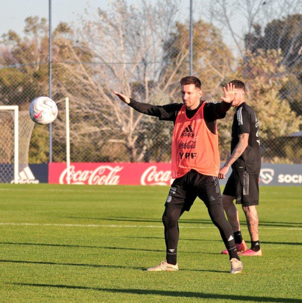 Martínez Quarta fue la única cara nueva en la Selección