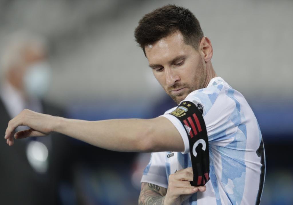 Messi la colgó de un ángulo pero Argentina no supo aguantarlo
