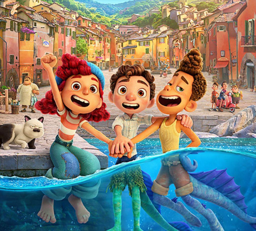 """""""Luca"""": una aventura fantástica en la Riviera italiana sobre amistades que abren mundos"""