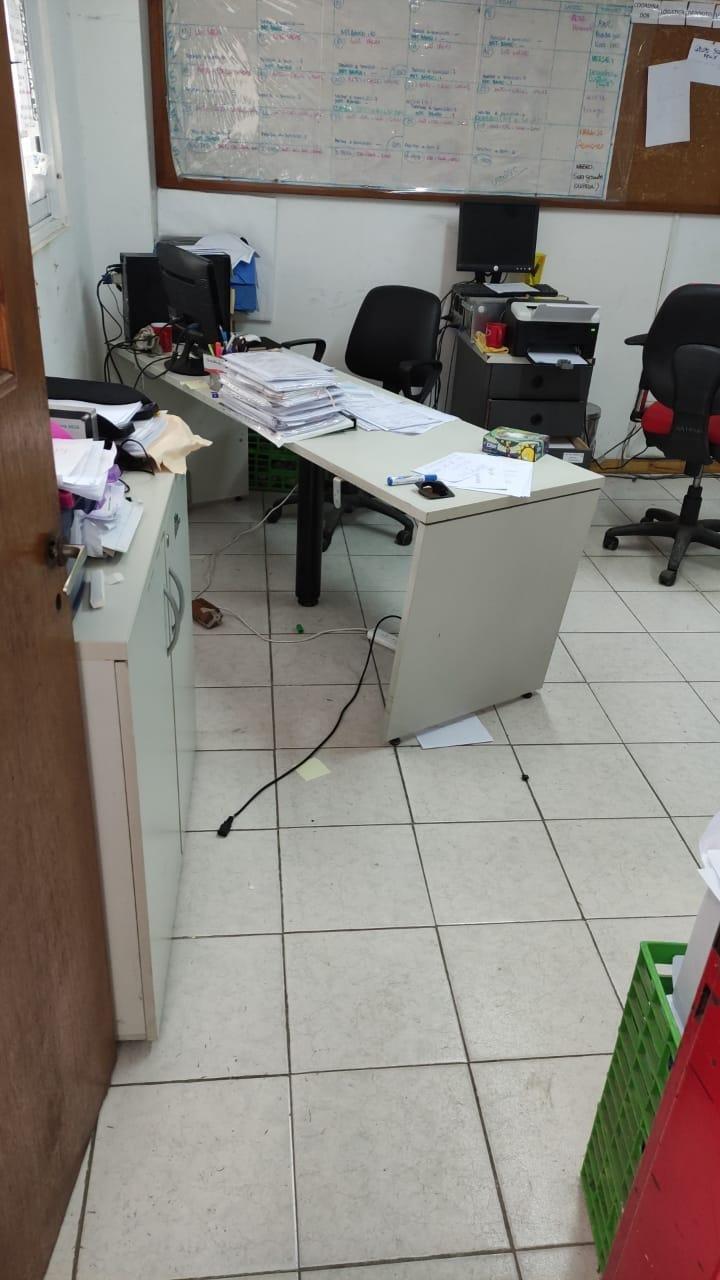 Escruche y daños en la sede del Banco Alimentario, que asiste a 140 comedores